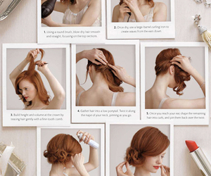 hair, hair styles, and hairstyle image
