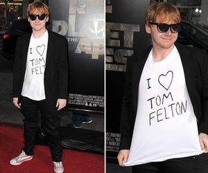 rupert grint, draco malfoy, and harry potter image