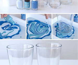 diy, blue, and glasses image