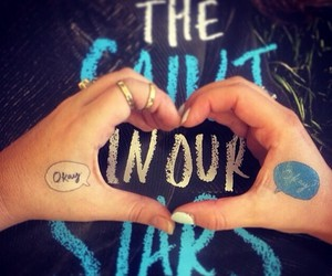 quotes, the fault in our stars, and love image