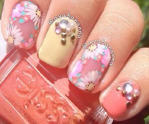 like, nail art, and moda image