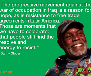 danny glover, politics, and protest image
