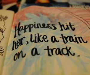 happiness, quote, and florence and the machine image