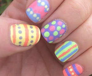 like, nail art, and moda image