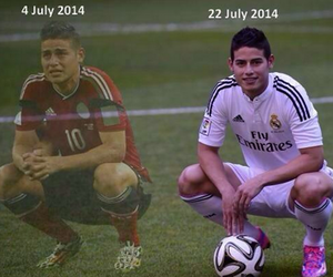 real madrid, james rodriguez, and colombia image
