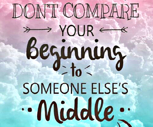 beginning, quote, and middle image