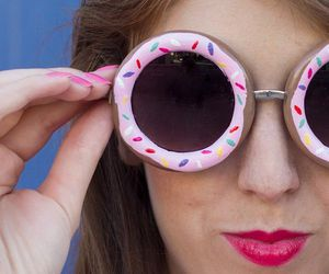 donuts and sunglasses image