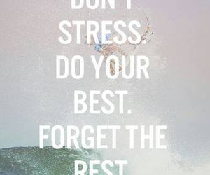 quotes, stress, and motivation image
