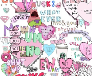 heart, stikers, and yolo image