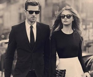 couple, style, and cara delevingne image
