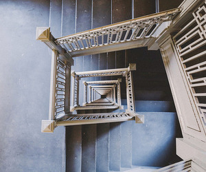 stairs and blue image