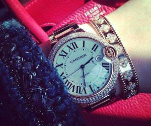 luxury, watch, and cartier image