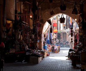 marrakech, morocco, and travel image