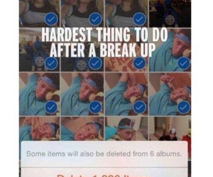 love, break up, and delete image