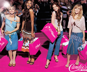 shop, candie's, and kohl's image