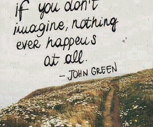imagine, john green, and quote image