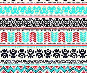 pattern, background, and tribal image
