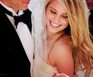 wedding and dianna agron image