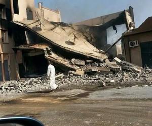 bombing, Libya, and Ramadan image