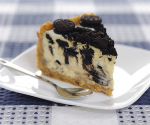 food, oreo, and cake image