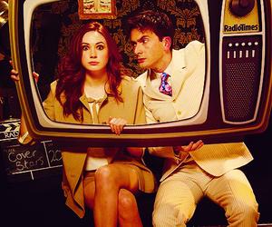 doctor who, david tennant, and karen gillan image