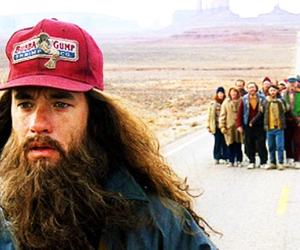 forrest gump, run, and bubba gump image