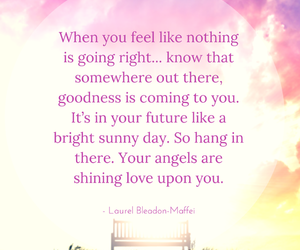 angels, bright, and feelings image