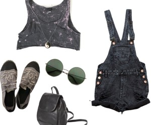 bag, black, and clothes image