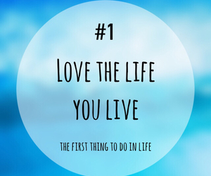 life, live, and love image