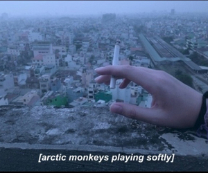 am, arctic monkeys, and cigarette image