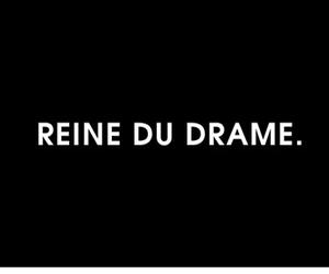 drama, fashion, and french image