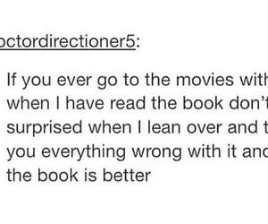 books, movie, and read image