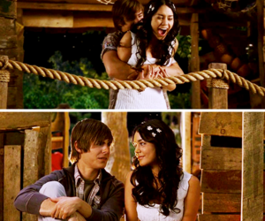 caps, zanessa, and high school musical 3 image