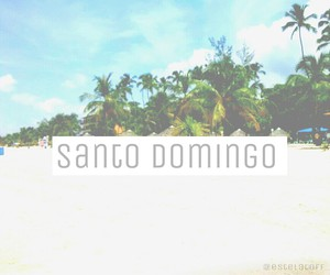 beach, caribe, and Dominican Republic image