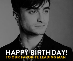 daniel radcliffe and happy birthday image