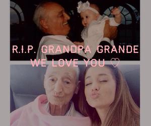 grandpa, ariana grande, and family image
