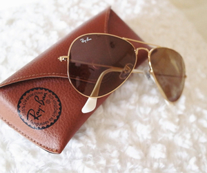 fashion, ray ban, and sunglasses image