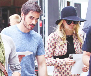 colin o'donoghue, Jennifer Morrison, and once upon a time image
