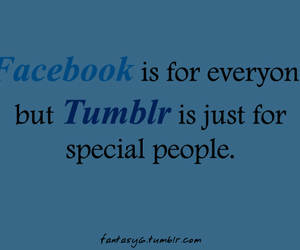 facebook, special, and tumblr image