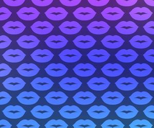 wallpaper, lips, and kiss image