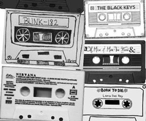 music and casettes image