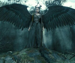Angelina Jolie, fairy, and maleficent image