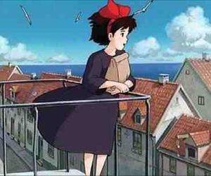 anime, paper bags, and kiki's delivery service image
