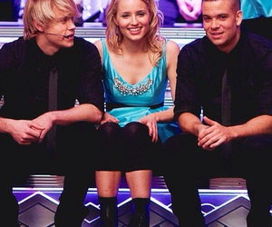 dianna agron, chord overstreet, and mark salling image