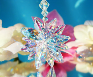 swarovski crystal, car accessories, and crystal suncatchers image