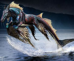 percy jackson and hippocampus image