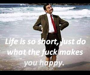 happy, life, and short image