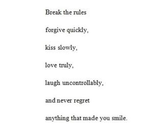 life, love truly, and never regret image