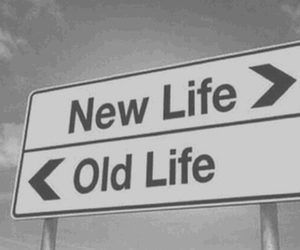 life, new, and old image