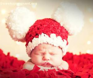 baby, christmas, and sweet image